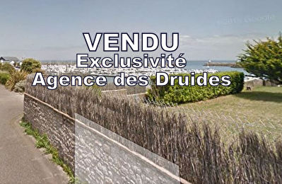 Terrain  Quiberon 350 m2 - VUE MER POSSIBLE DE LA FUTURE  HABITATION